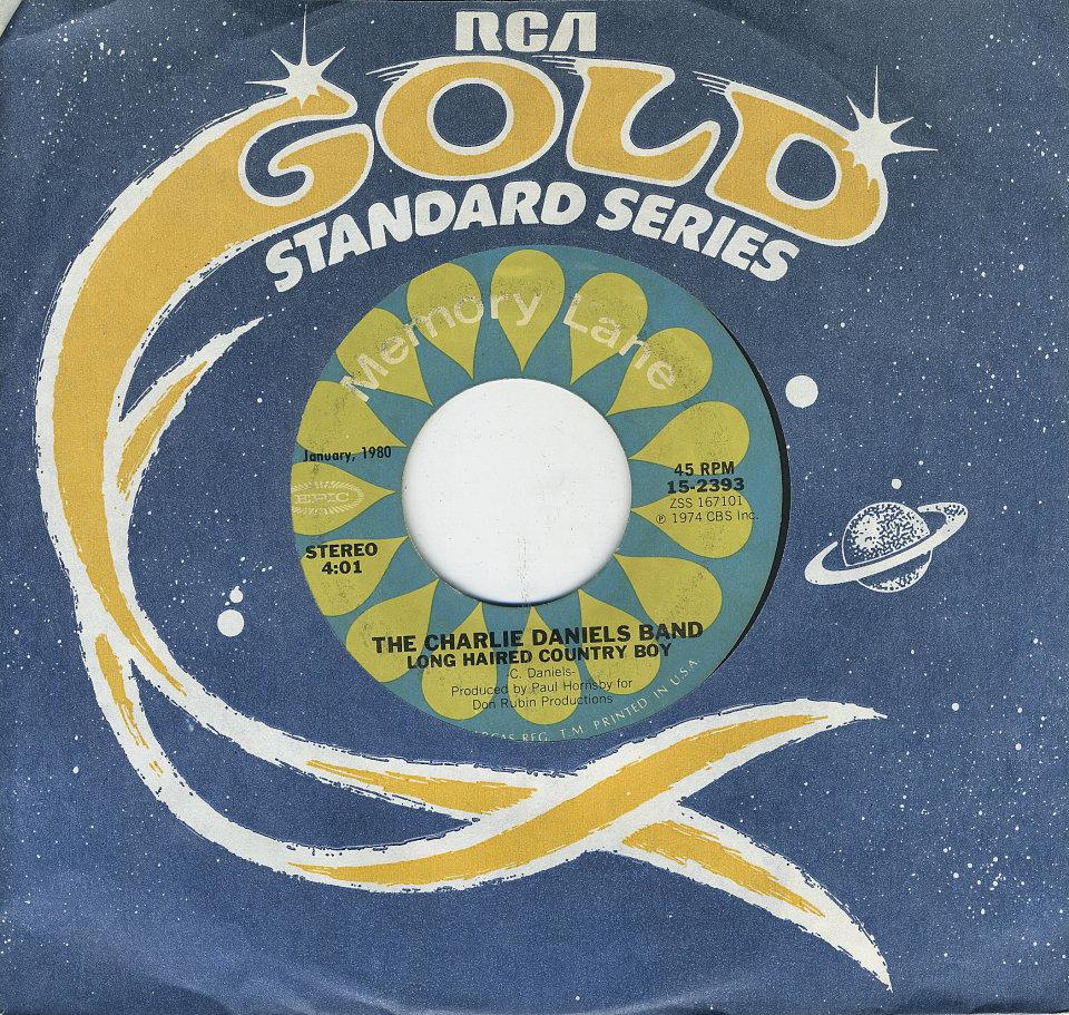 "The Charlie Daniels Band Vinyl 7"" (Used)"