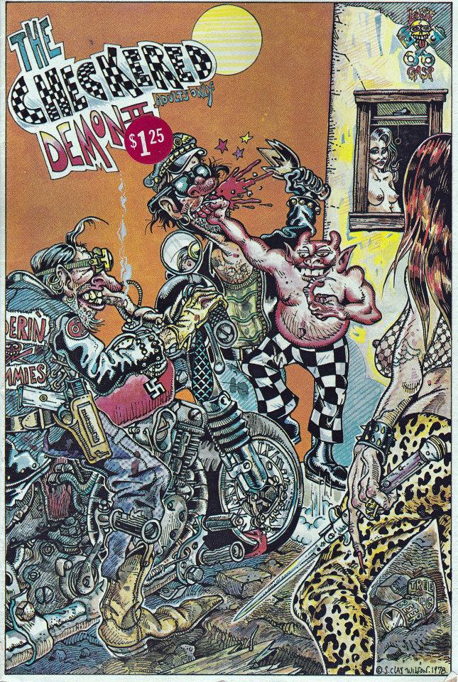 The Checkered Demon #2 Comic Book