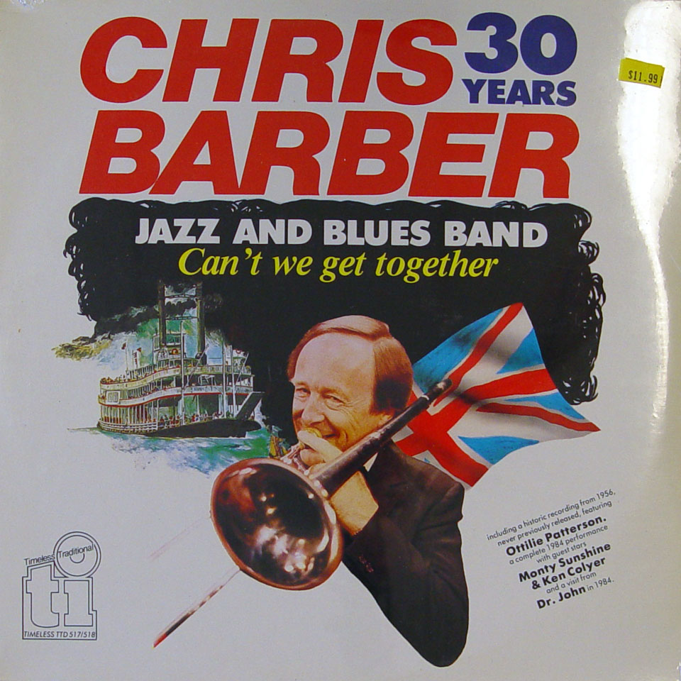 """The Chris Barber Jazz And Blues Band Vinyl 12"""" (New)"""
