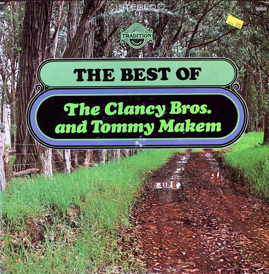 """The Clancey Bros. / Tommy Makem Vinyl 12"""" (Used)"""
