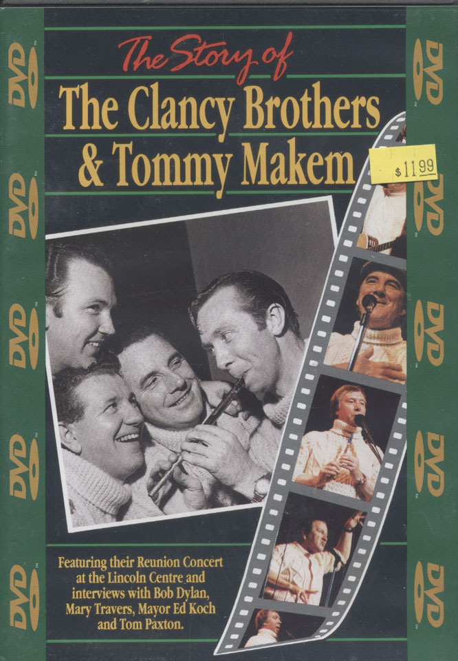 The Clancy Brothers / Tommy Makem DVD