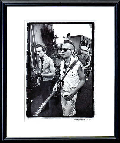The Clash Framed Fine Art Print