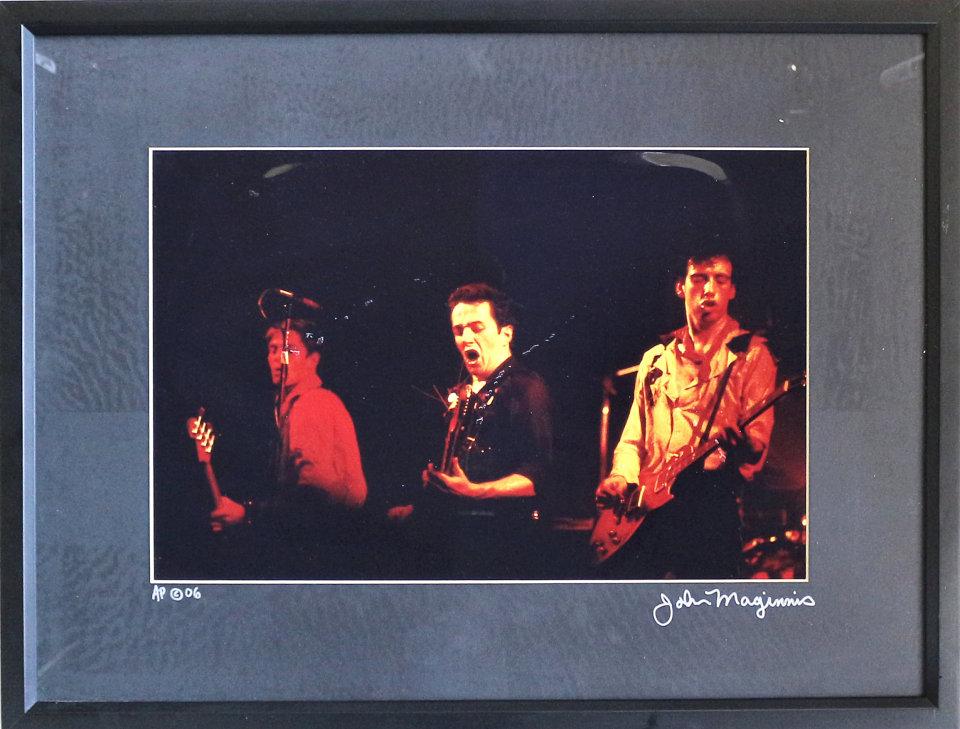 The Clash Framed Vintage Print