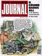 The Comics Journal #121 Magazine