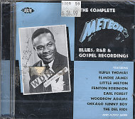 The Complete Meteor Blues, R&B And Gospel Recordings CD