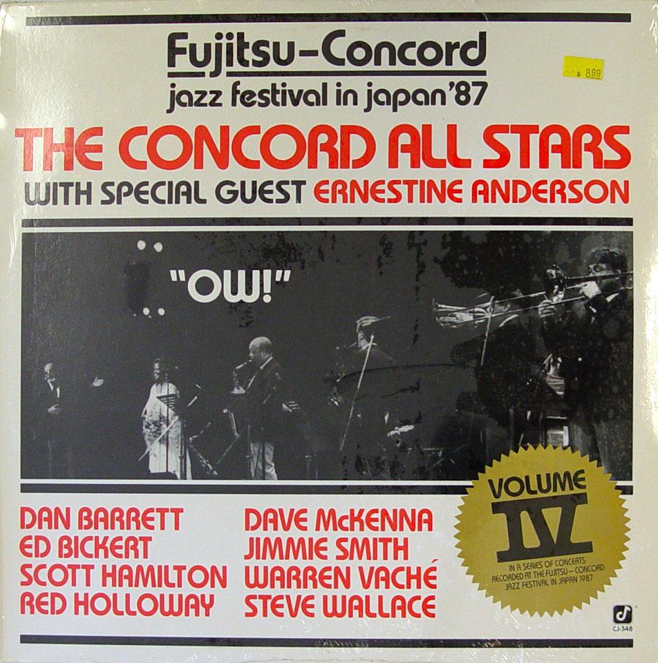 "The Concord All Stars Vinyl 12"" (New)"