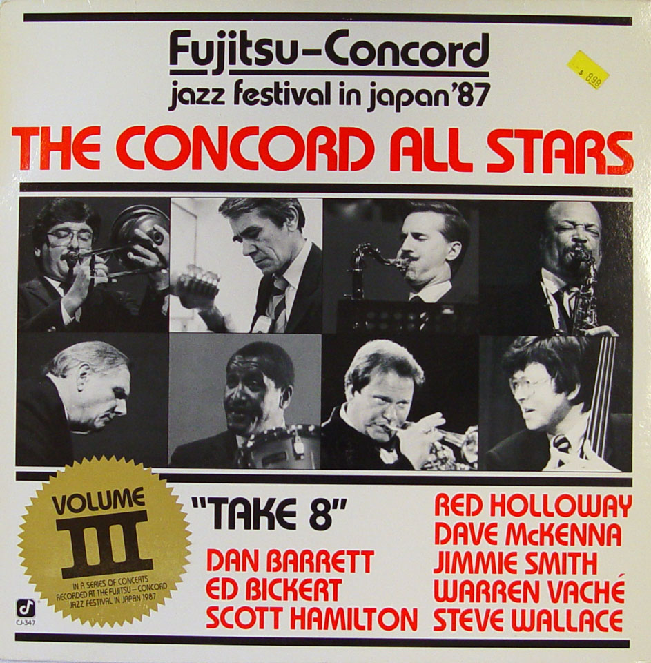 """The Concord All Stars Vinyl 12"""" (Used)"""