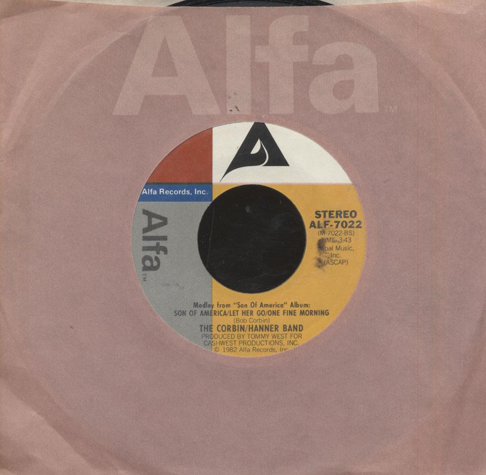 "The Corbin/Hanner Band Vinyl 7"" (Used)"