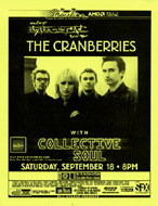 The Cranberries Handbill