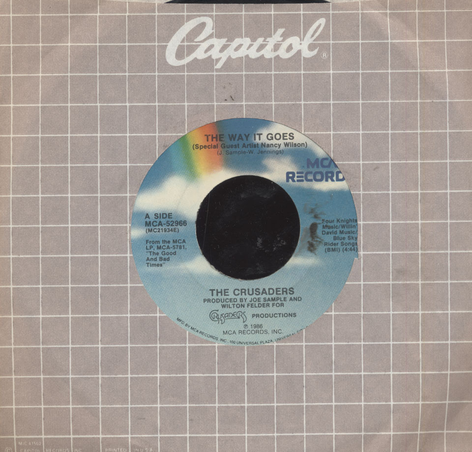 "The Crusaders Vinyl 7"" (Used)"