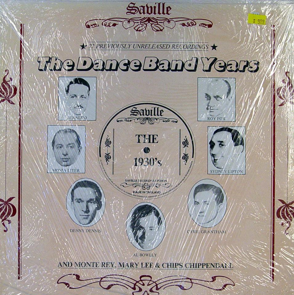 "The Dance Band Years Vinyl 12"" (New)"