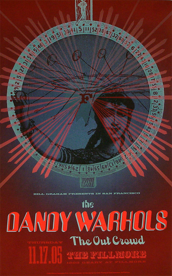 The Dandy Warhols Poster