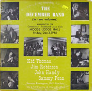"""The December Band Vinyl 12"""" (Used)"""