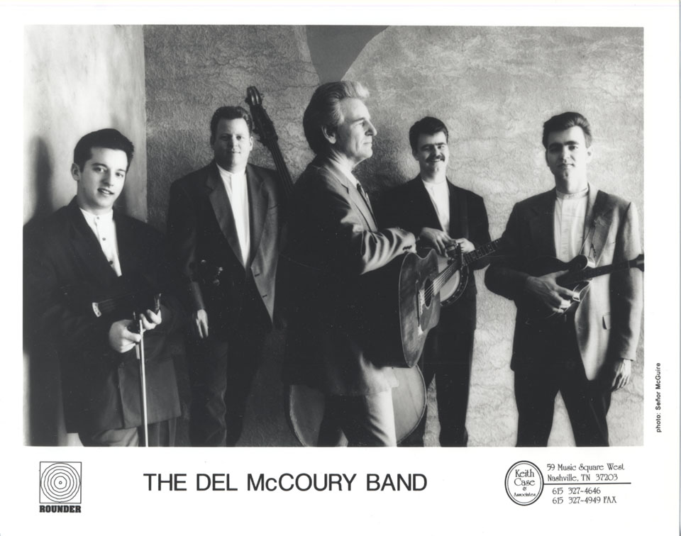 The Del McCoury Band Promo Print