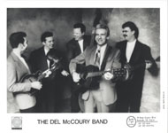 The Del McCoury Band Promo Print