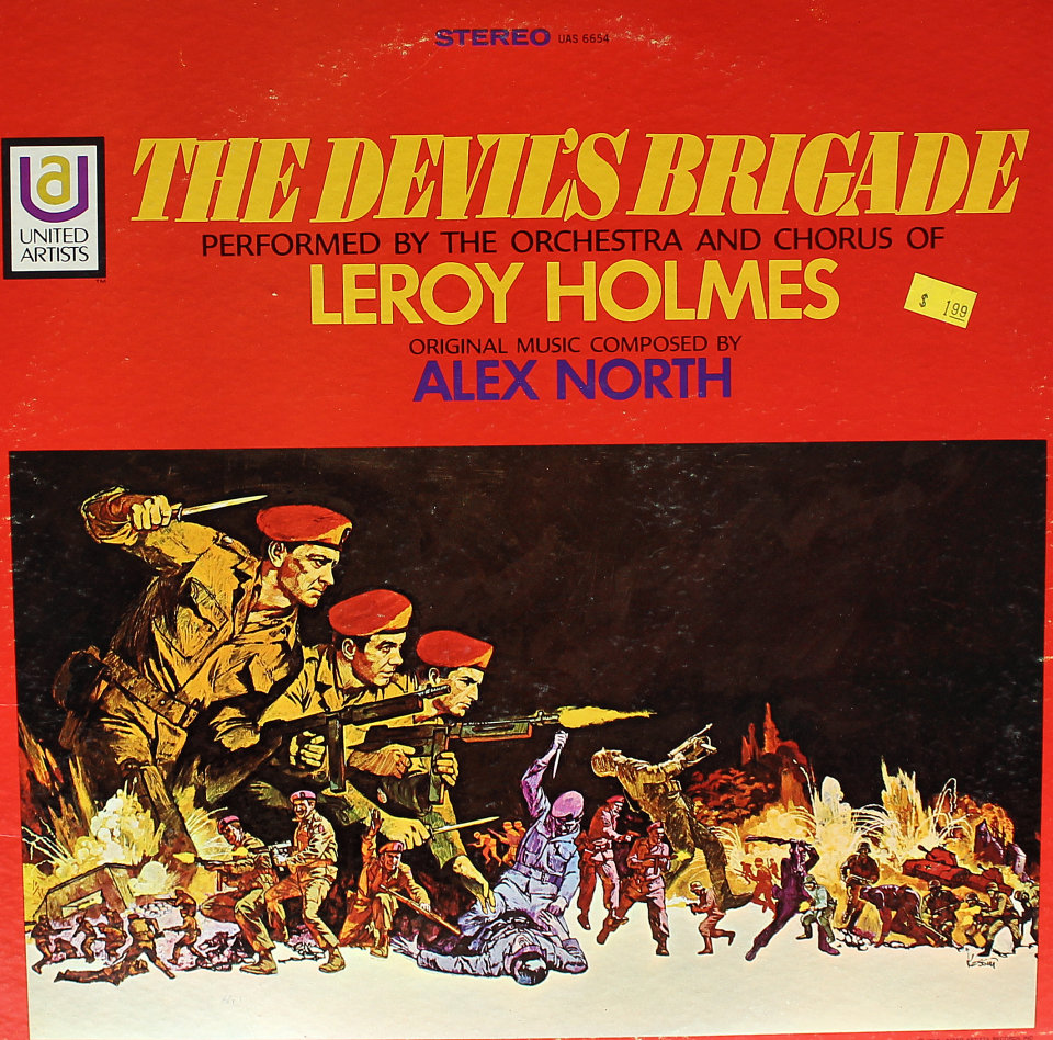LeRoy Holmes Orchestra* Leroy Holmes And His Orchestra - A Fistful Of Dollars / License To Kill
