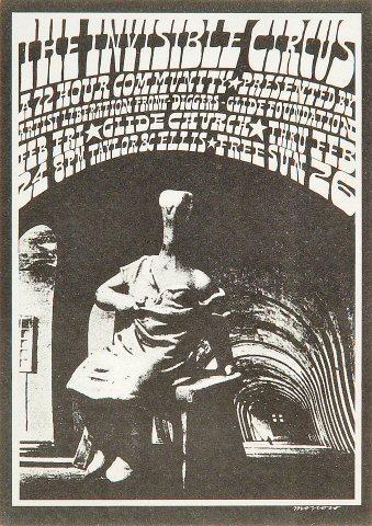The Diggers Handbill