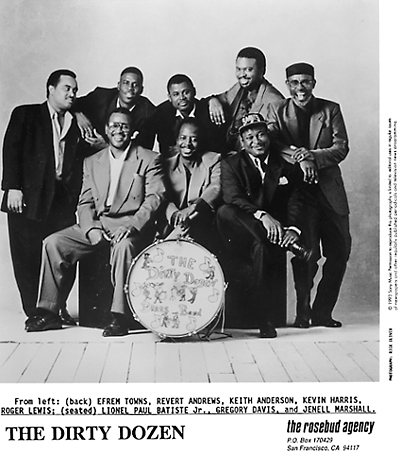 The Dirty Dozen Brass Band Promo Print