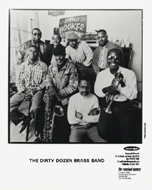 The Dirty Dozen Brass Band Promo Print