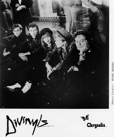 The Divinyls Promo Print