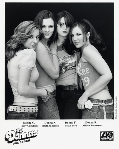 The Donnas Promo Print