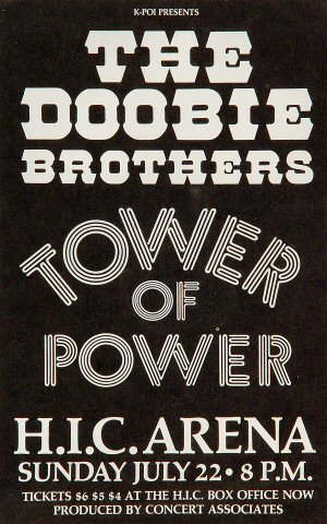 The Doobie Brothers Handbill