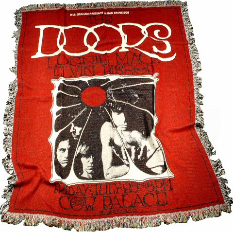 The Doors Blanket/Throw