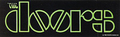 The Doors Sticker