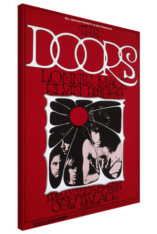The Doors Wrapped Canvas