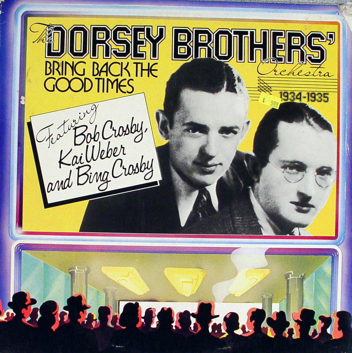 """The Dorsey Brothers Orchestra 1934-1935 Vinyl 12"""" (Used)"""