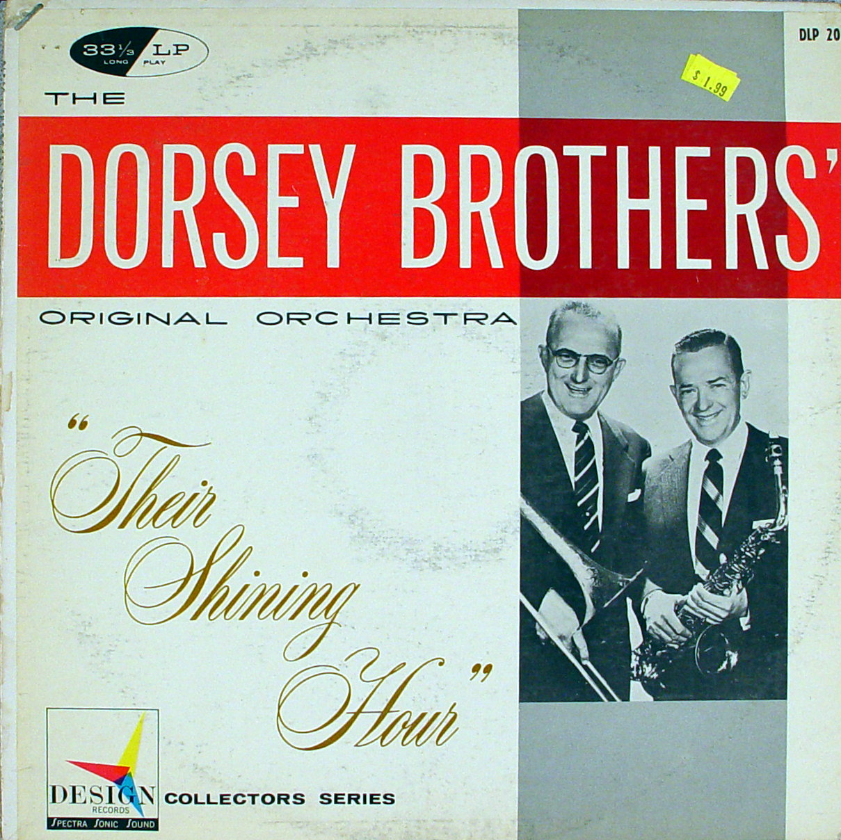 """The Dorsey Brothers Original Orchestra Vinyl 12"""" (Used)"""