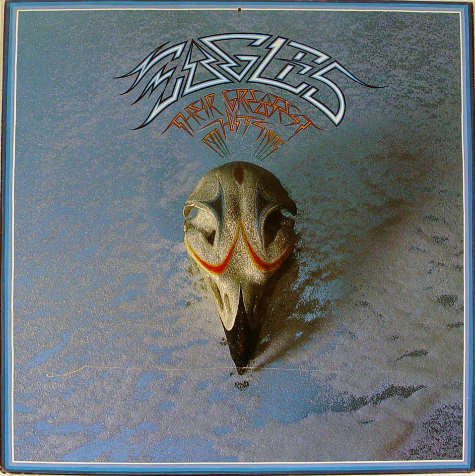 The Eagles/Linda Ronstadt Album Flat reverse side