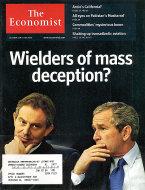 The Economist October 4, 2003 Magazine