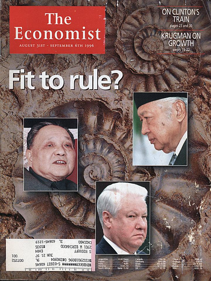 The Economist Vol. 340 No. 7981