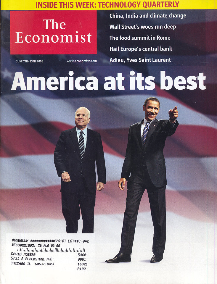 The Economist Vol. 387 No. 8583
