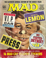 The Eleventh Annual Edition Of The Worst From Mad Magazine