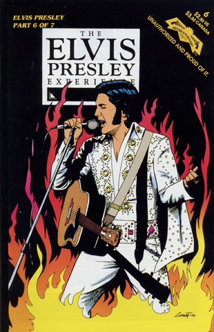 The Elvis Presley Experience Comic, Issue 6 Comic Book