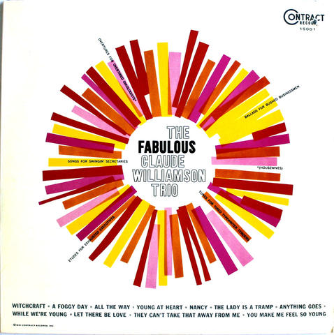 "The Fabulous Claude Williamson Trio Vinyl 12"" (New)"