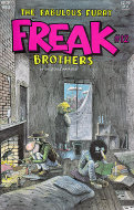 The Fabulous Furry Freak Brothers #12 Comic Book