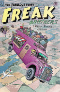The Fabulous Furry Freak Brothers No. 11 Comic Book