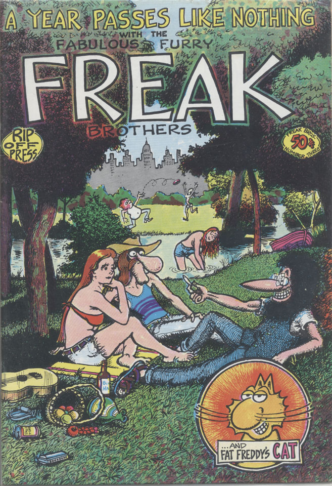 The Fabulous Furry Freak Brothers No. 3 Comic Book