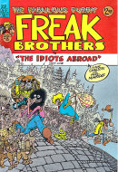 The Fabulous Furry Freak Brothers No. 8 Comic Book