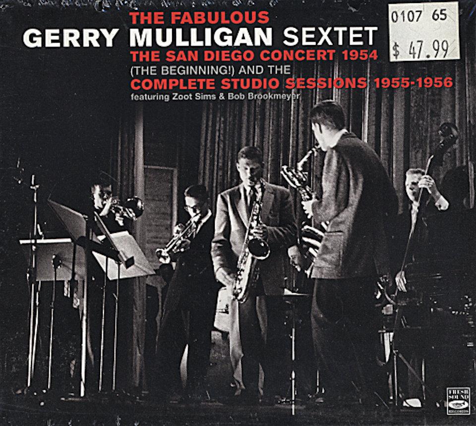 The Fabulous Gerry Mulligan Sextet CD