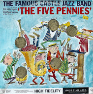 """The Famous Castle Jazz Band Vinyl 12"""" (Used)"""