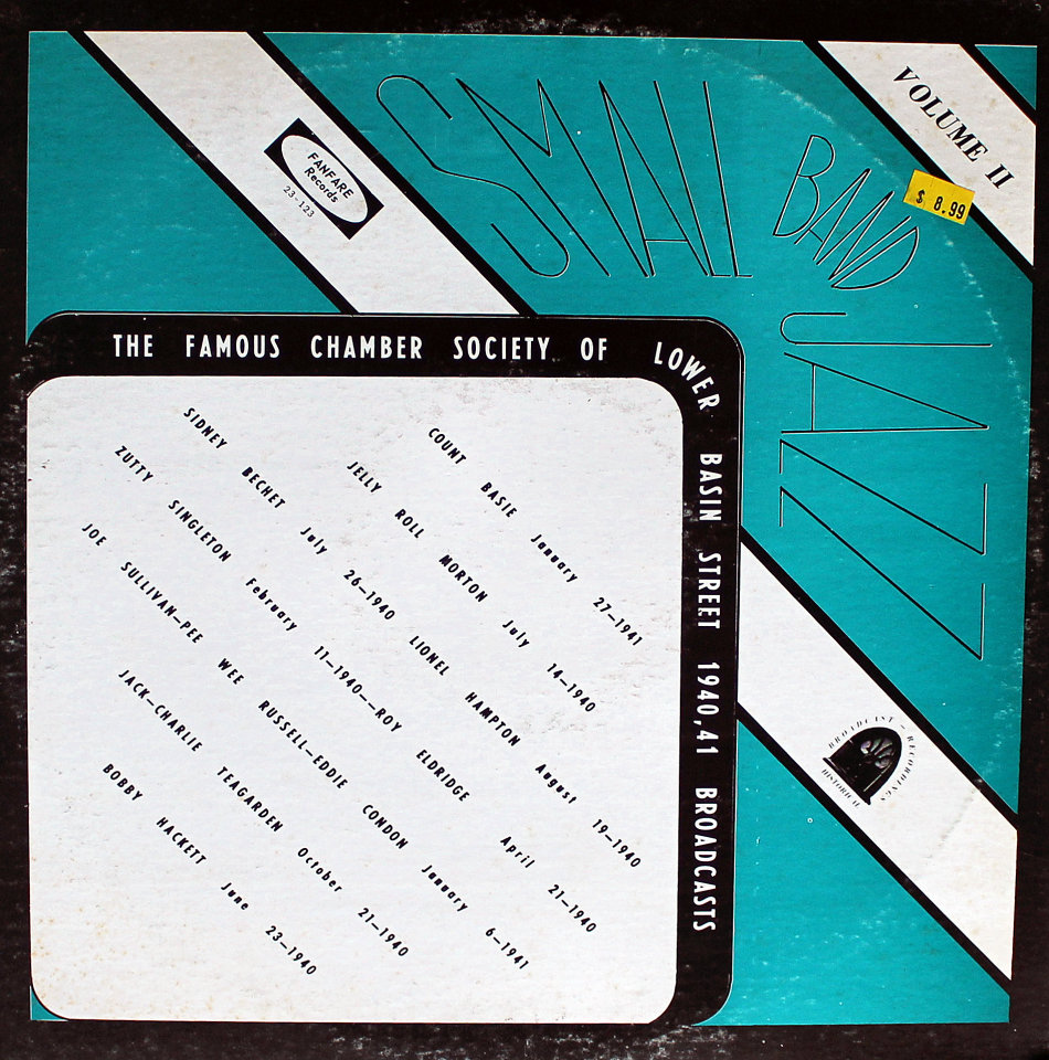 "The Famous Chamber Society Of Lower Basin Street: Volume II, 1940-41 Broadcasts Vinyl 12"" (Used)"
