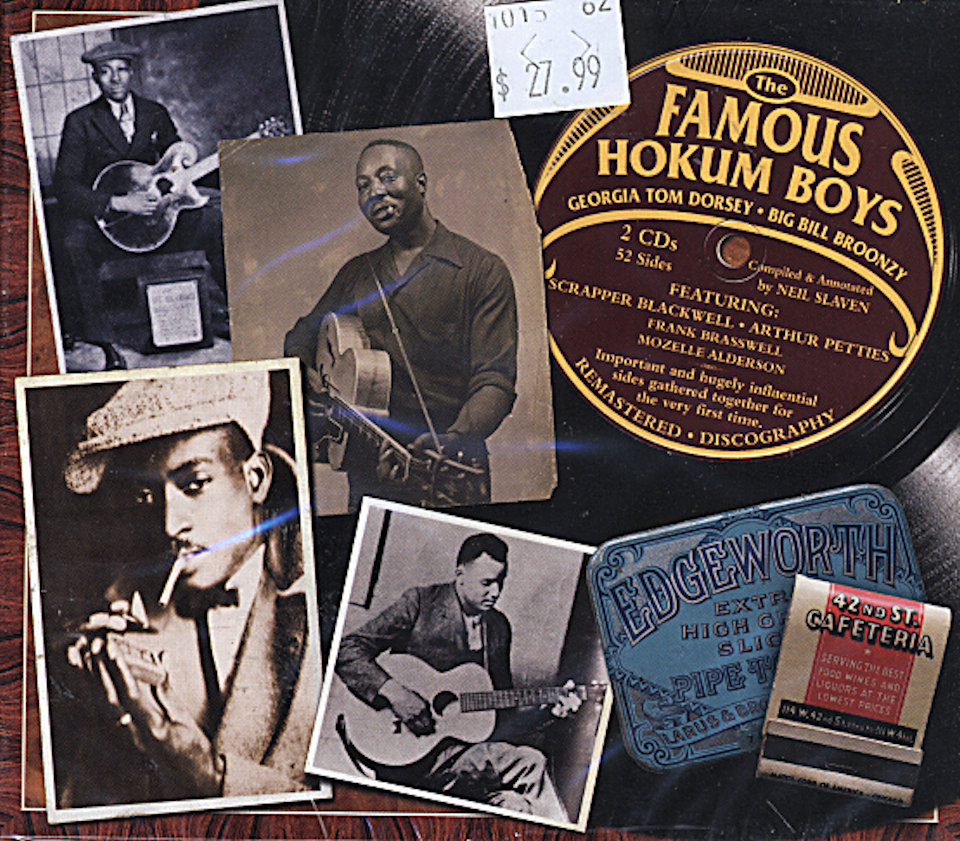 The Famous Hokum Boys CD