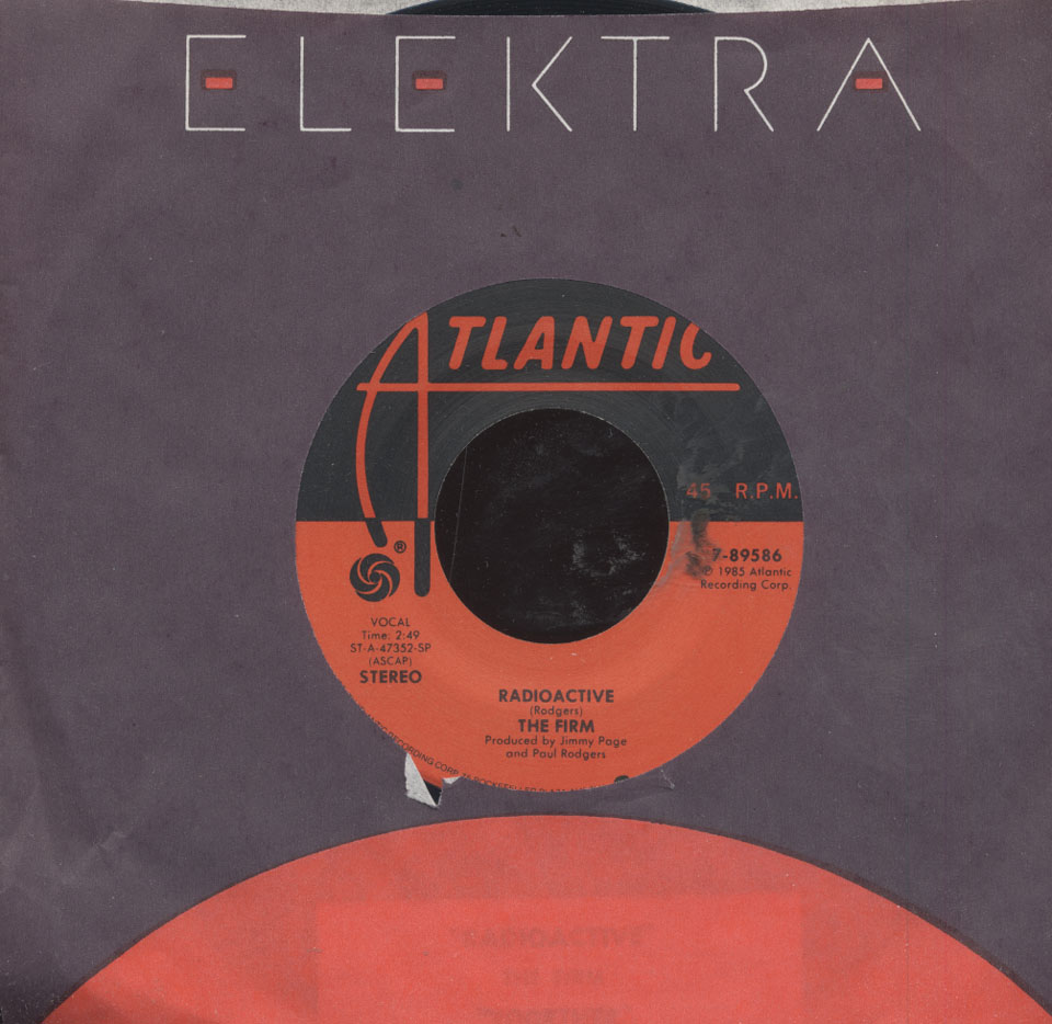 """The Firm Vinyl 7"""" (Used)"""