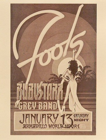 The Fools Handbill