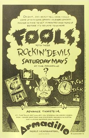 The Fools Poster