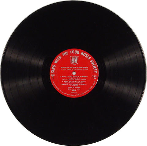 """The Four Roses Society Vinyl 12"""" (Used)"""